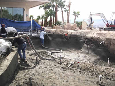 gunite shotcrete pool